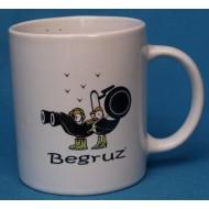 Mug en porcelaine décors BegRuz
