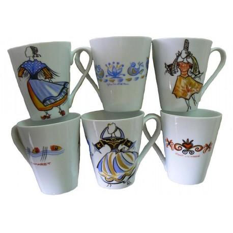 Mug décors costumes