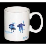 Mug en porcelaine décors VGLM